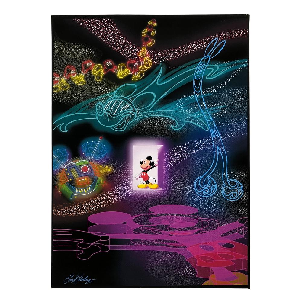ミッキーマウス展/US/エリック・ゴールドバーグ/キャンバスパネル