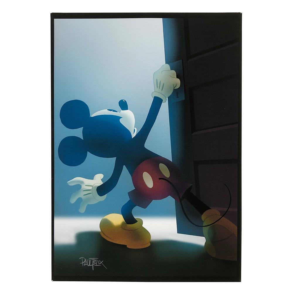 ミッキーマウス展/US/ポール・フェリックス /キャンバスパネル1
