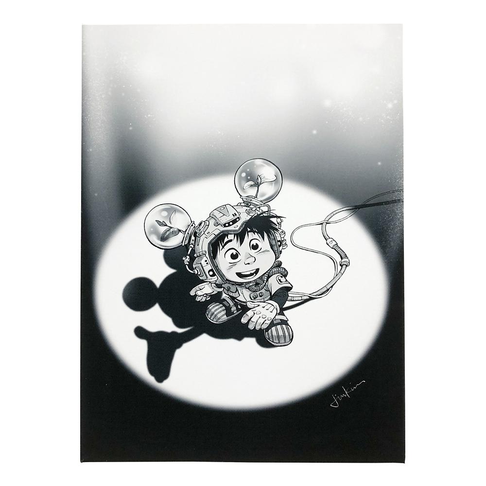 ミッキーマウス展/US/ジン・キム/キャンバスパネル