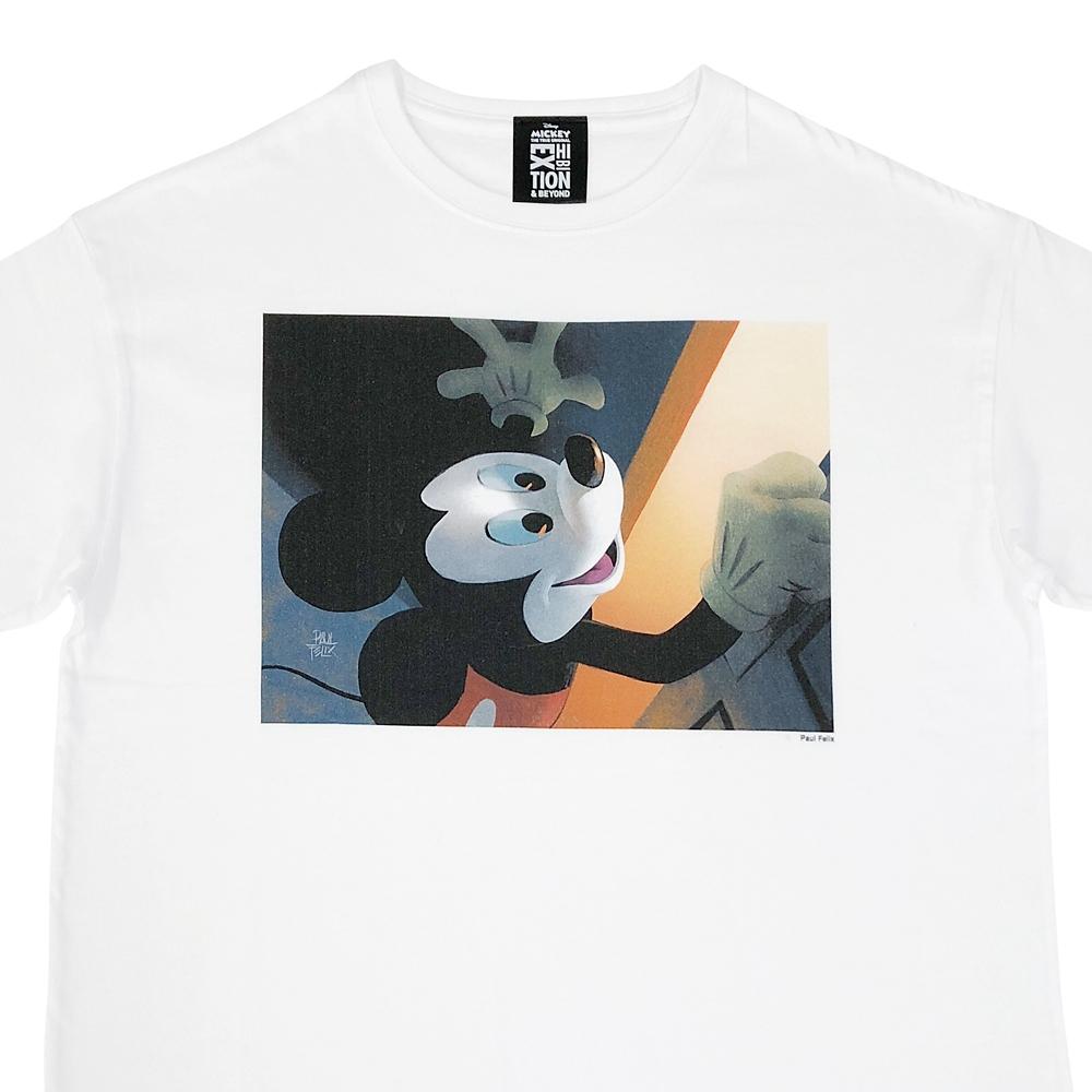 ミッキーマウス展/US/ポール・フェリックス /Tシャツ2