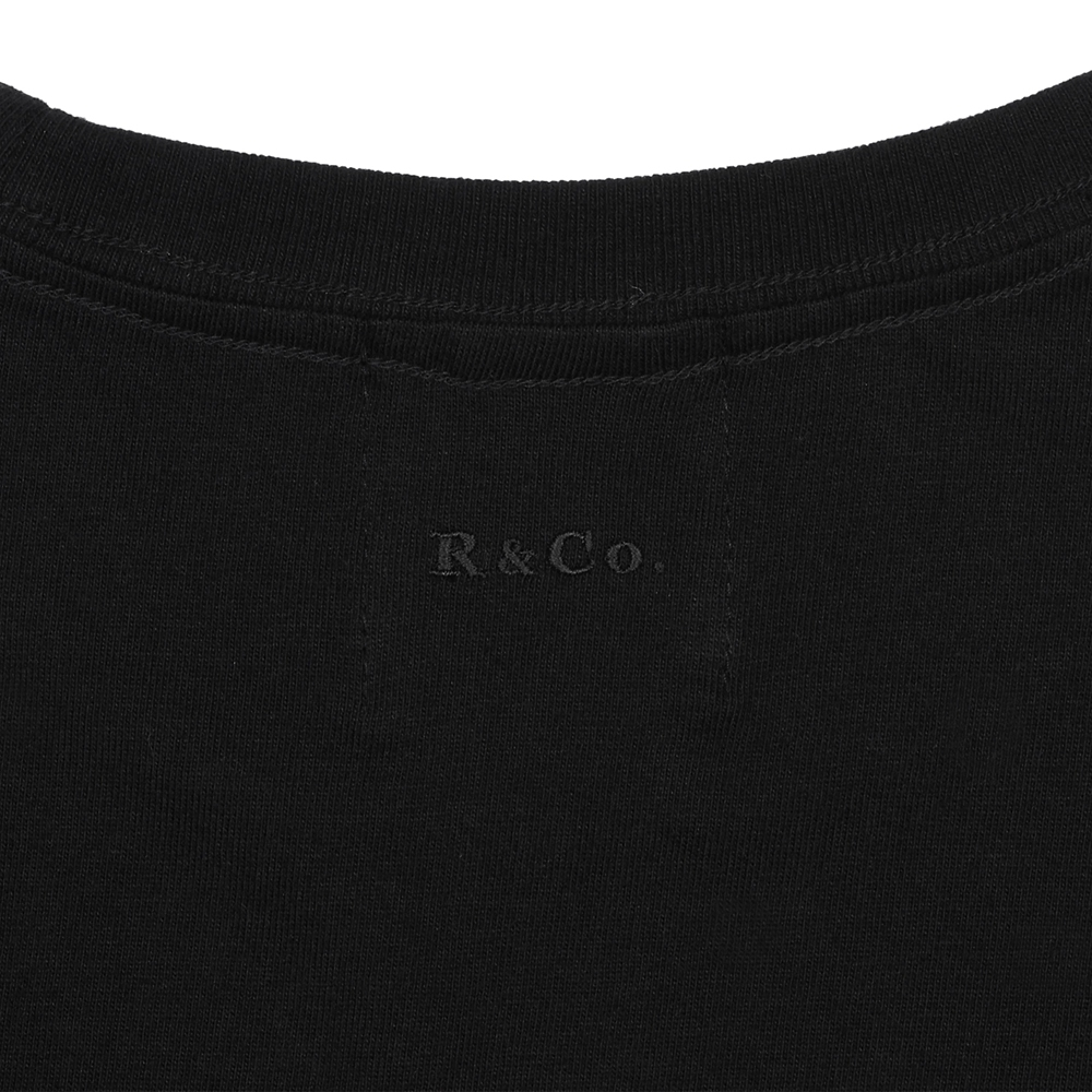 R&Co. Mickey Mouse pocket T shirt  BLACK  M