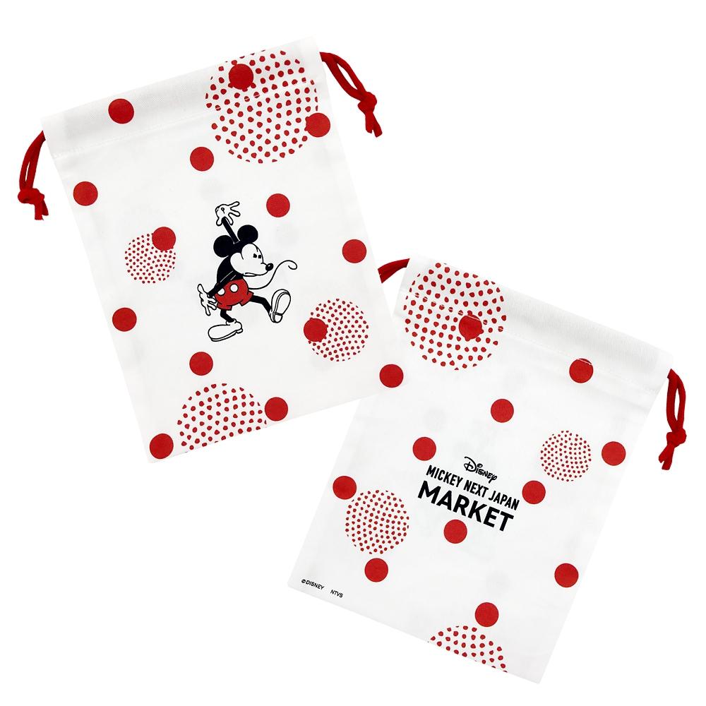 【ミッキーネクストジャパンマーケット】巾着(MARU)