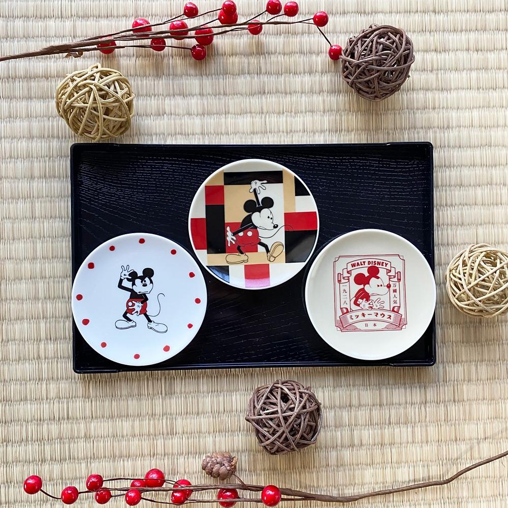 【ミッキーネクストジャパンマーケット】豆皿(MARU)