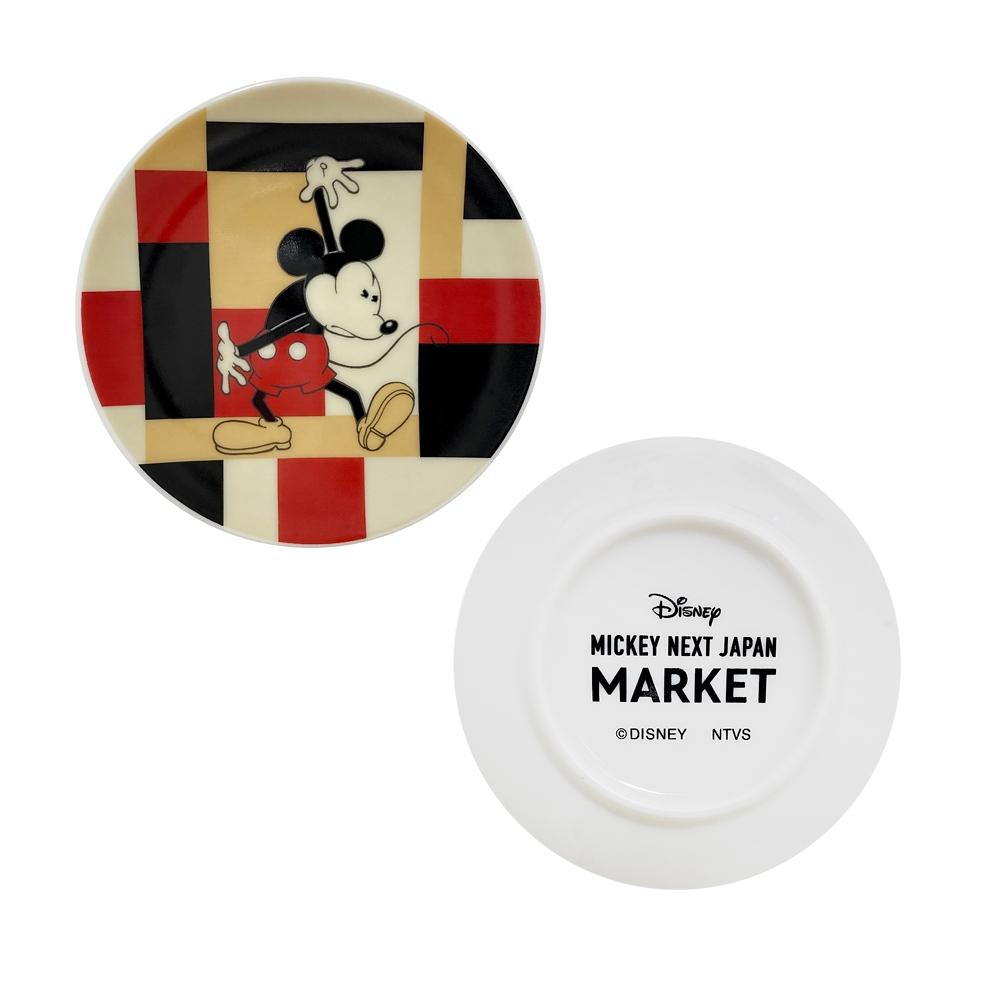 【ミッキーネクストジャパンマーケット】豆皿(寄木柄)
