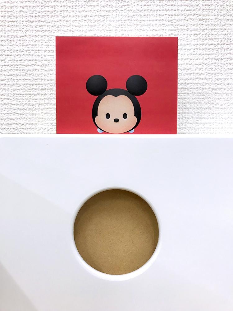 100cm幅3段『ディズニー ツムツム』チェスト