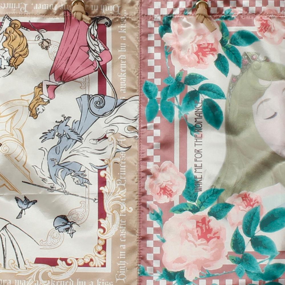 眠れる森の美女/オーロラ姫/スカーフ風トートバッグ(PONEYCOMB ChouChou)