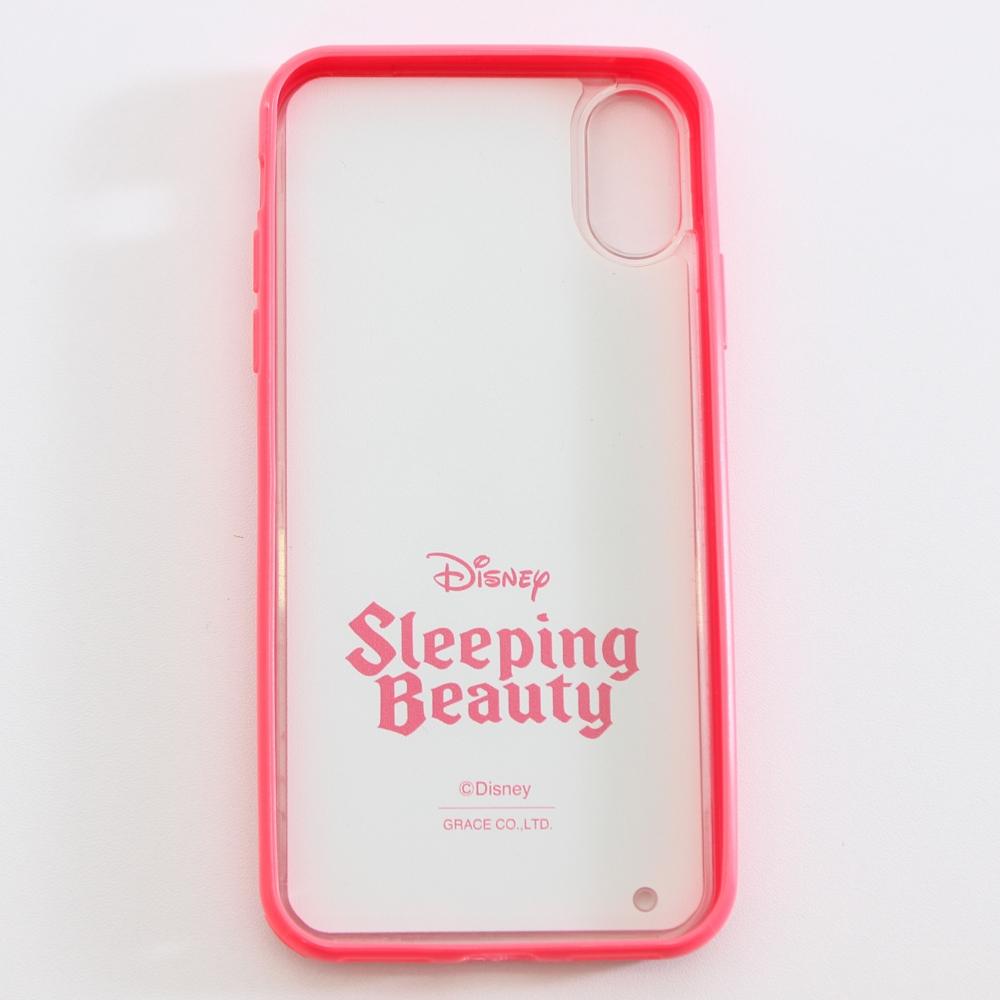 眠れる森の美女/オーロラ姫/ストーン入りiPhoneX対応ケース(PONEYCOMB ChouChou)