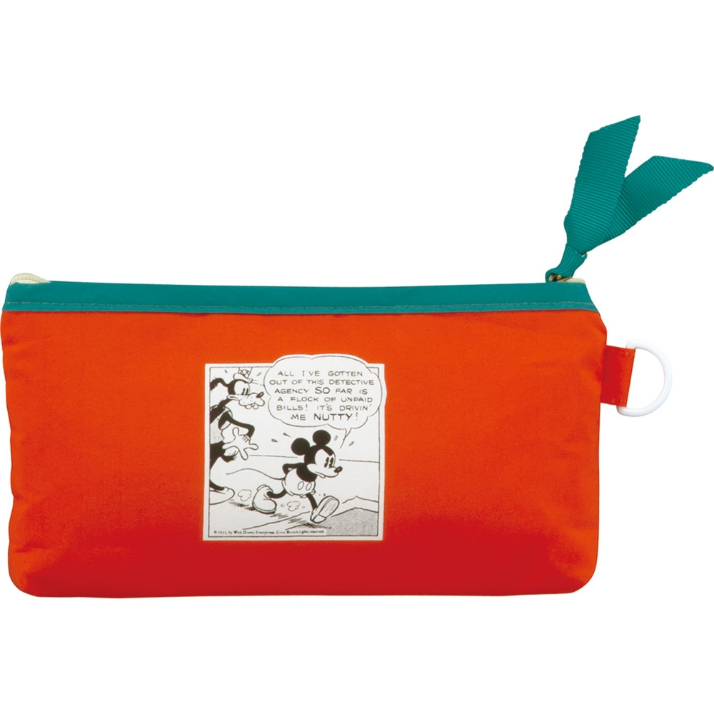 【Wpc.】ミッキーマウスコミックワッペンmini DS071-179RD