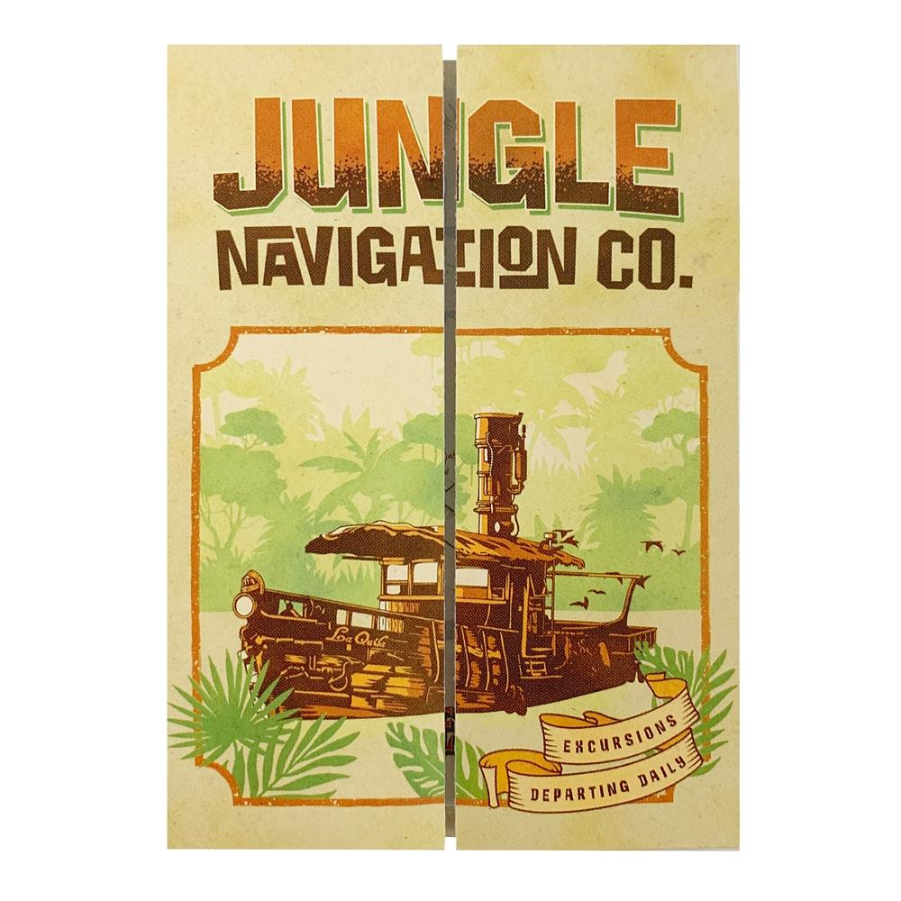 ジャングル・クルーズ 折りたたみマップふせん