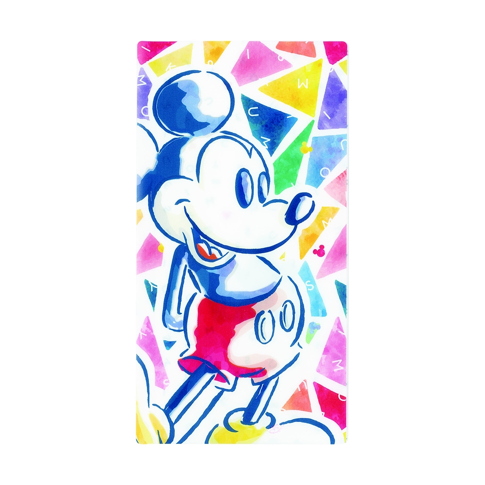 マスクケース(3ポケットタイプ) トライアングル・ミッキーマウス