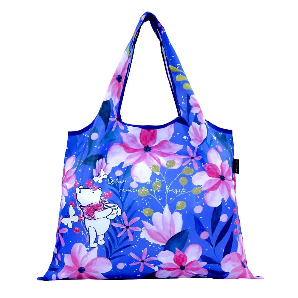 2WAY Shoppingbag お花・くまのプーさん