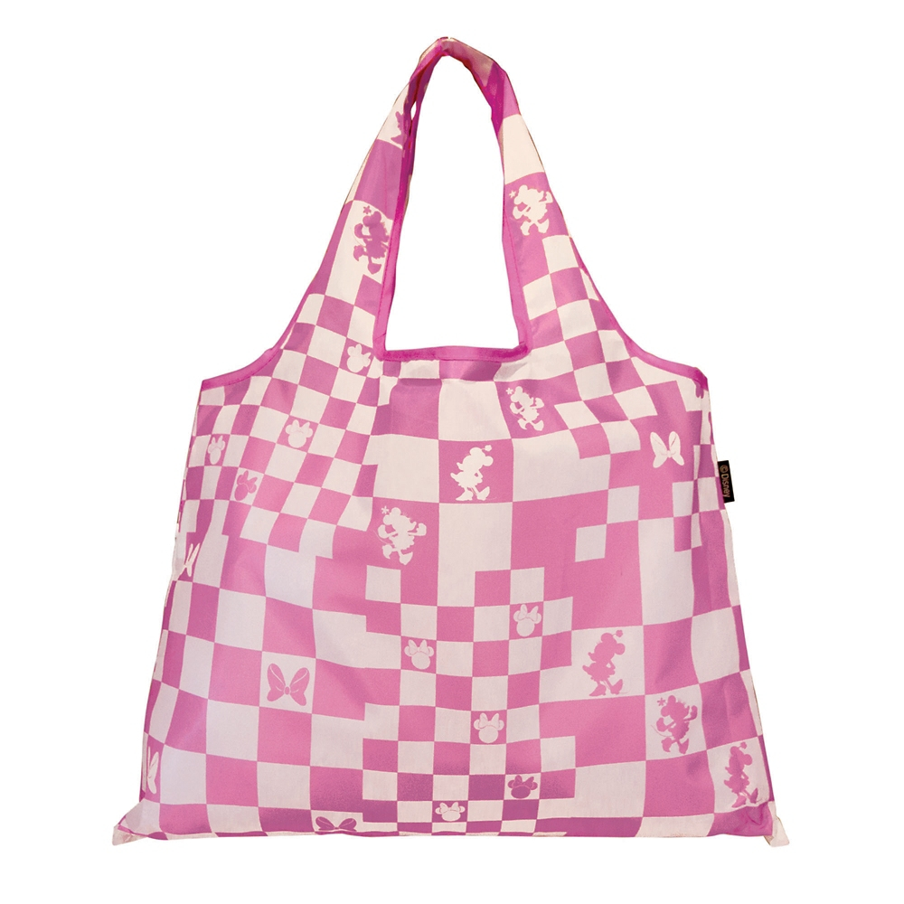 2WAY Shoppingbag 市松・ミニーマウス