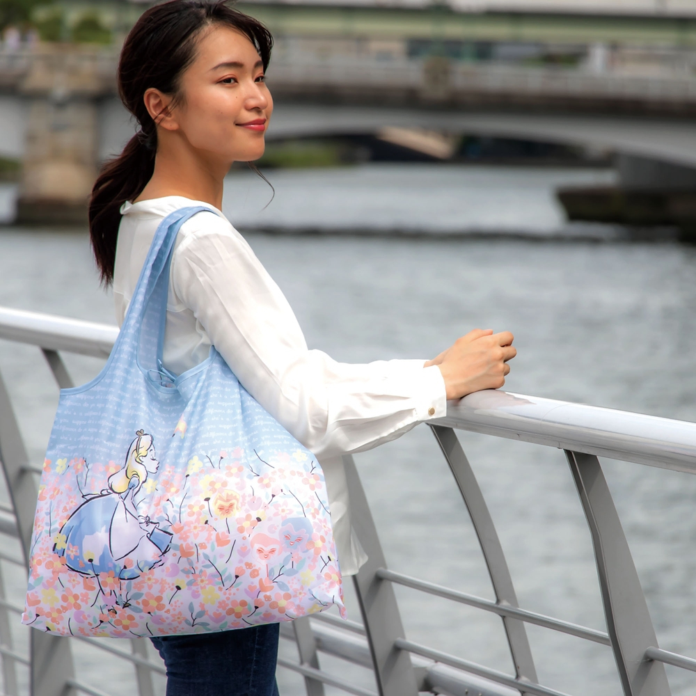 2WAY Shoppingbag 菊紋・ミッキーマウス&ミニーマウス