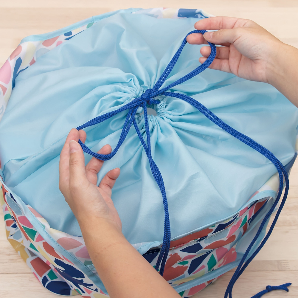 ショッピングバスケットバッグ  可愛いお花・ミニーマウス