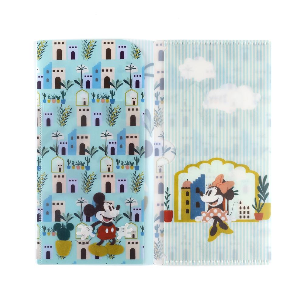 マスクケース(3ポケットタイプ) オアシスデート・ミッキー&ミニー