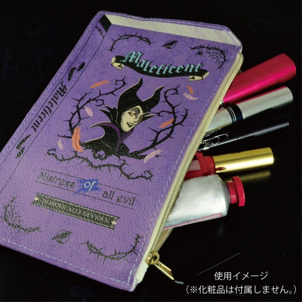 ヴィランズ 2Dブック型ポーチ(マレフィセント)