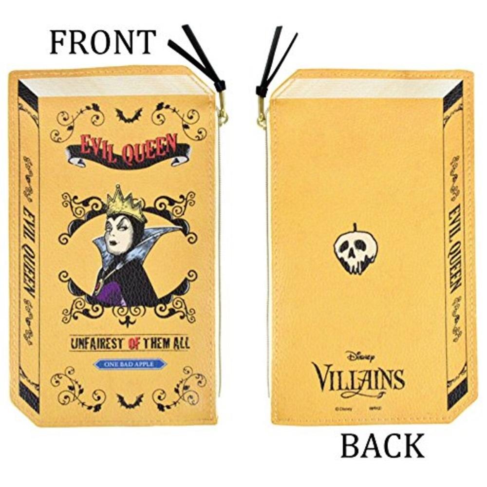 ヴィランズ 2Dブック型ポーチ(女王)
