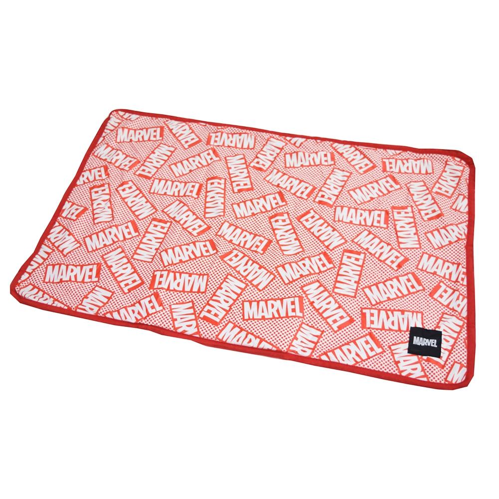 【モリシタ】MARVEL バッグインブランケット RED BOX