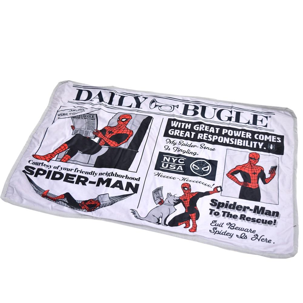 【モリシタ】MARVEL バッグインブランケット スパイダーマン