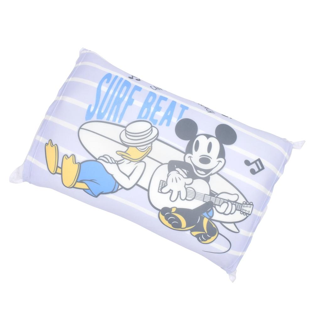 【モリシタ】ミッキー クールのびのび枕カバー