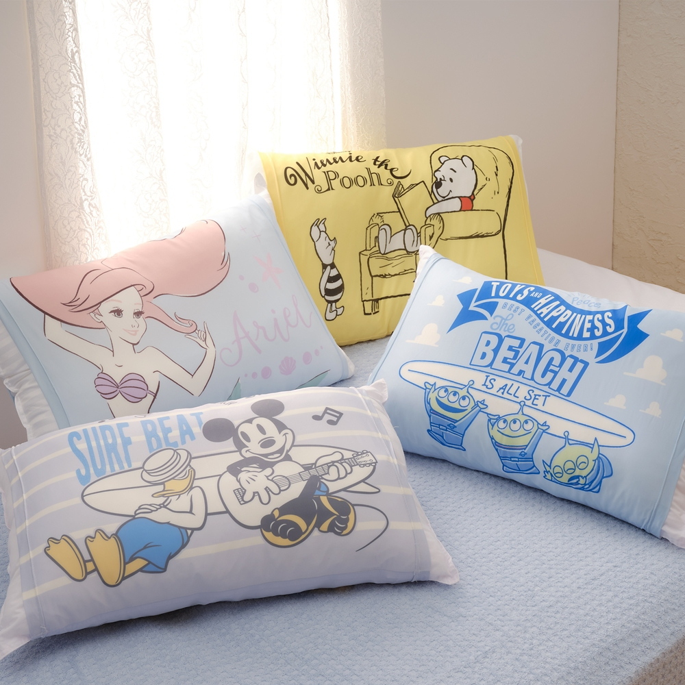 【モリシタ】グリーンメン クールのびのび枕カバー