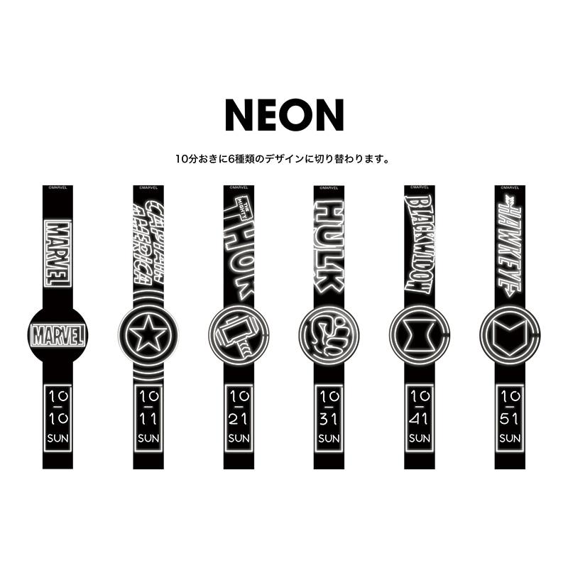 【FES Watch U】腕時計・ウォッチ マーベル コミック White