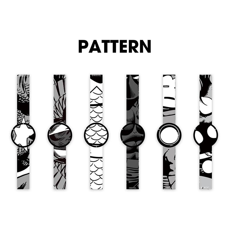 【FES Watch U】腕時計・ウォッチ マーベル コミック Premium Black