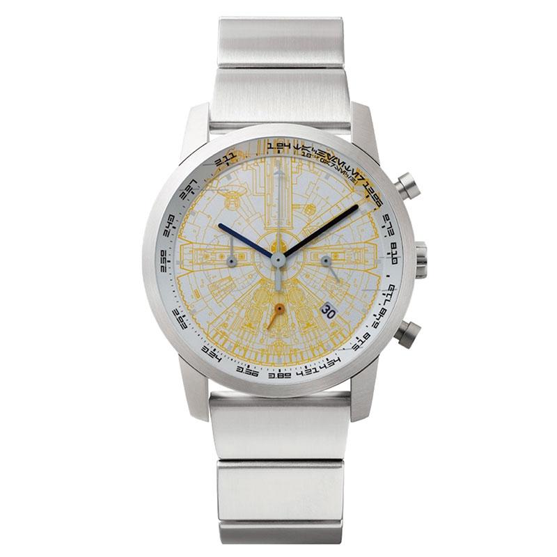 【wena】スター・ウォーズ 腕時計・ウォッチ THE LIGHT SIDE ミレニアム・ファルコン