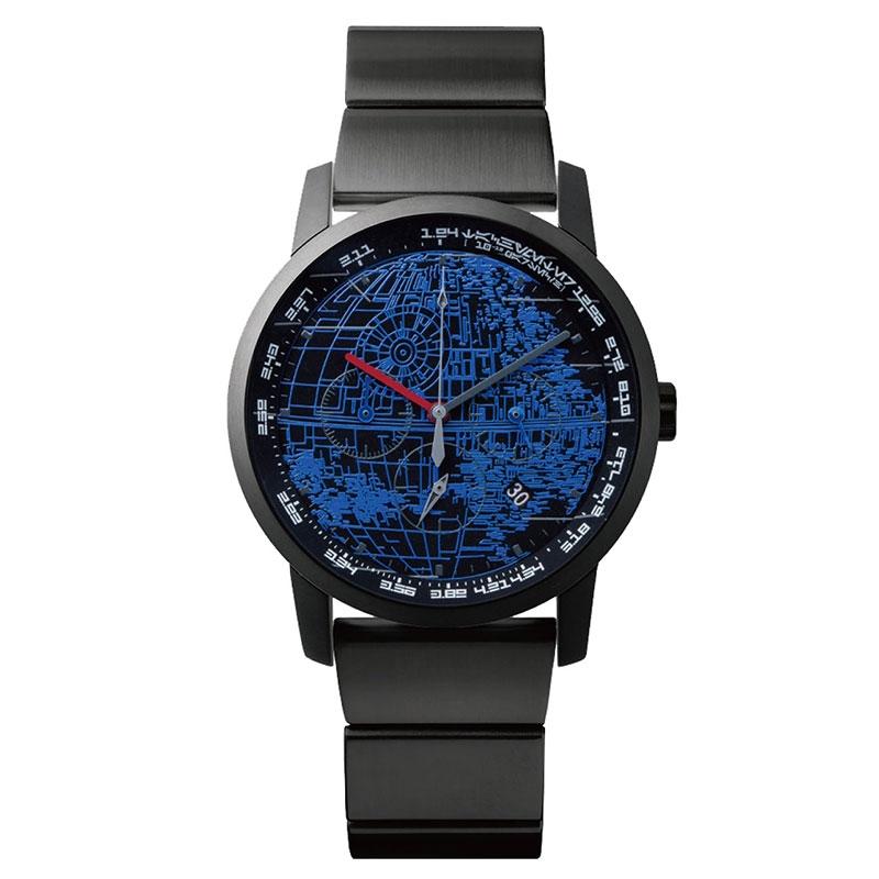 【wena】スター・ウォーズ 腕時計・ウォッチ THE DARK SIDE デス・スター