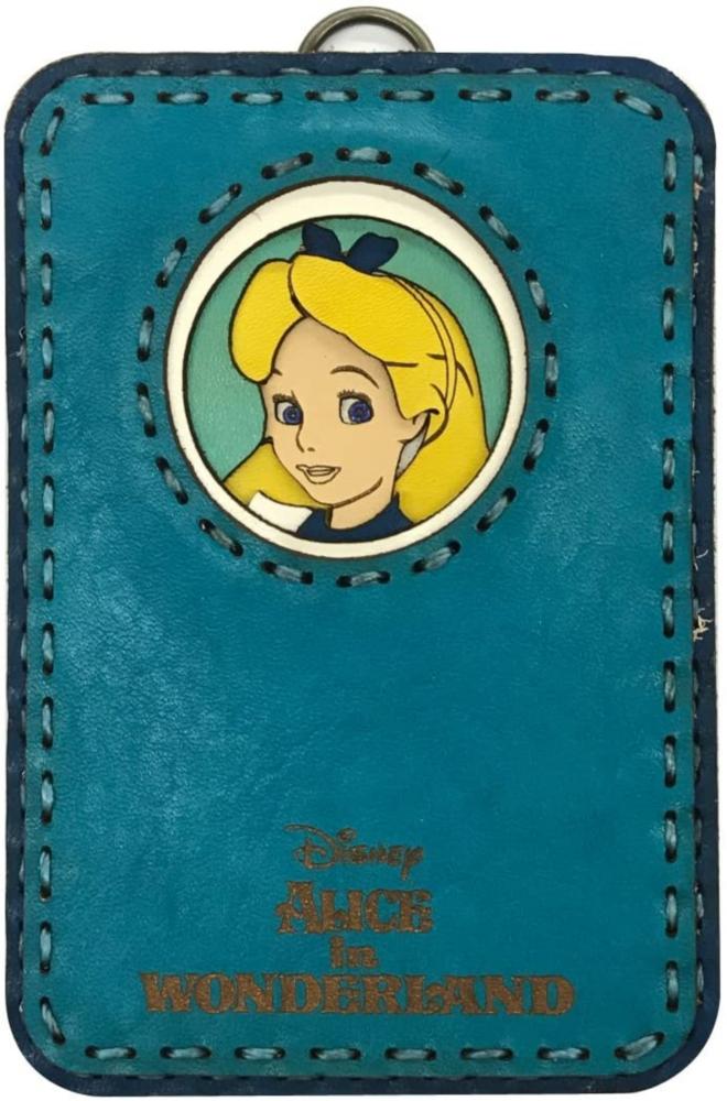 【 Disney 】 OJAGA DESIGN 不思議の国のアリス パスケース