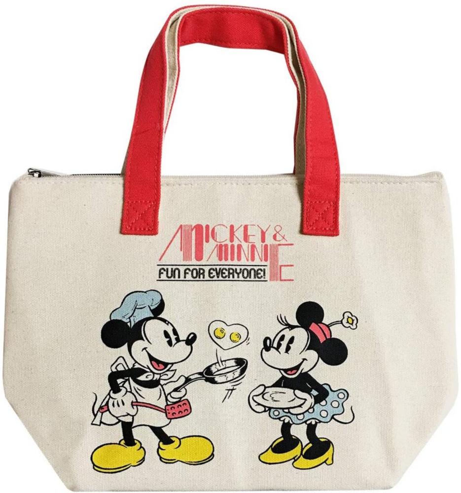 【 Disney 】 保冷保温バッグ /ミッキー&ミニー クッキング