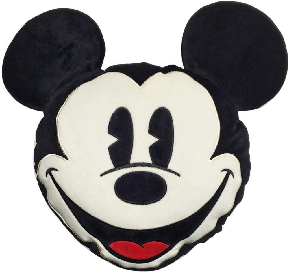 ディズニー ふわふわブランケットインクッション ミッキー フェイス