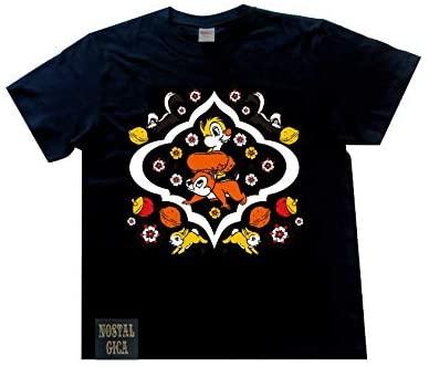 ノスタルジカ Tシャツ チップ&デール ブラック L