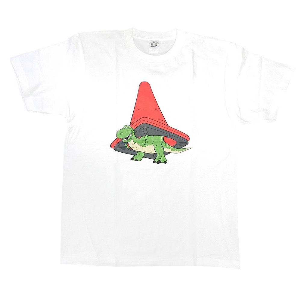 トイ・ストーリー レッドコーン レックス Tシャツ WH/M
