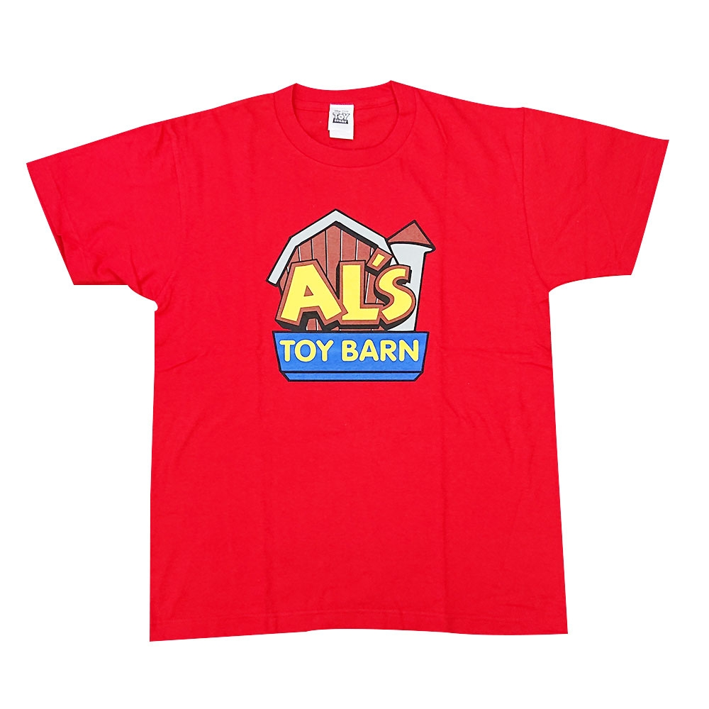 トイ・ストーリー Al's Toy Barn ロゴ Tシャツ L