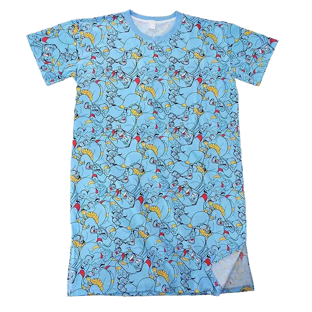 ディズニー ジーニー ぎっしり 総柄 ロングTシャツ