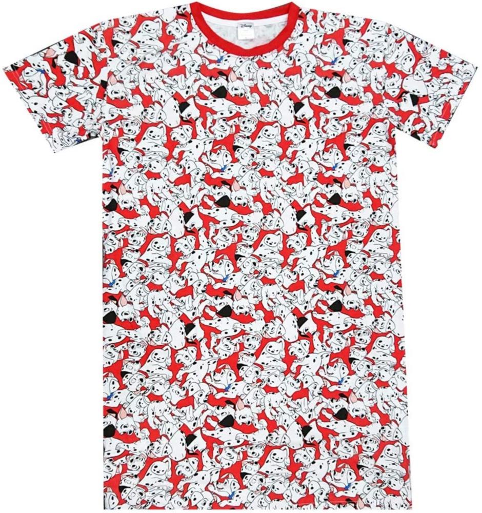 ディズニー 101匹ワンちゃん ぎっしり 総柄 ロングTシャツ