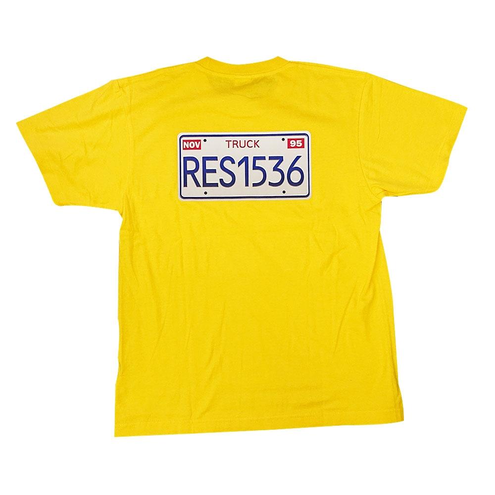 トイ・ストーリー PIZZA PLANET TRUCK プレート Tシャツ L