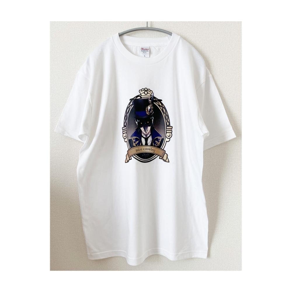 ディズニー ツイステッドワンダーランド Tシャツ  クロウリー/Tシャツ/M