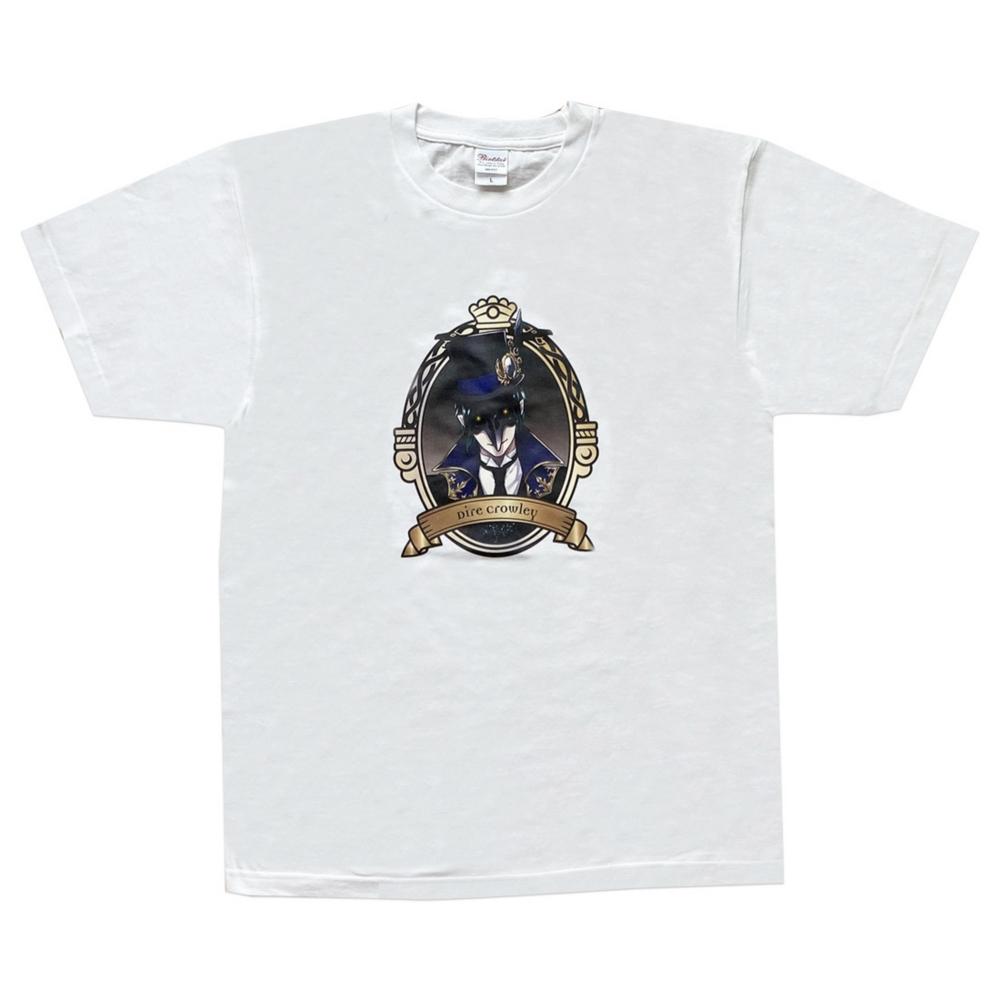 ディズニー ツイステッドワンダーランド Tシャツ  クロウリー/Tシャツ/L