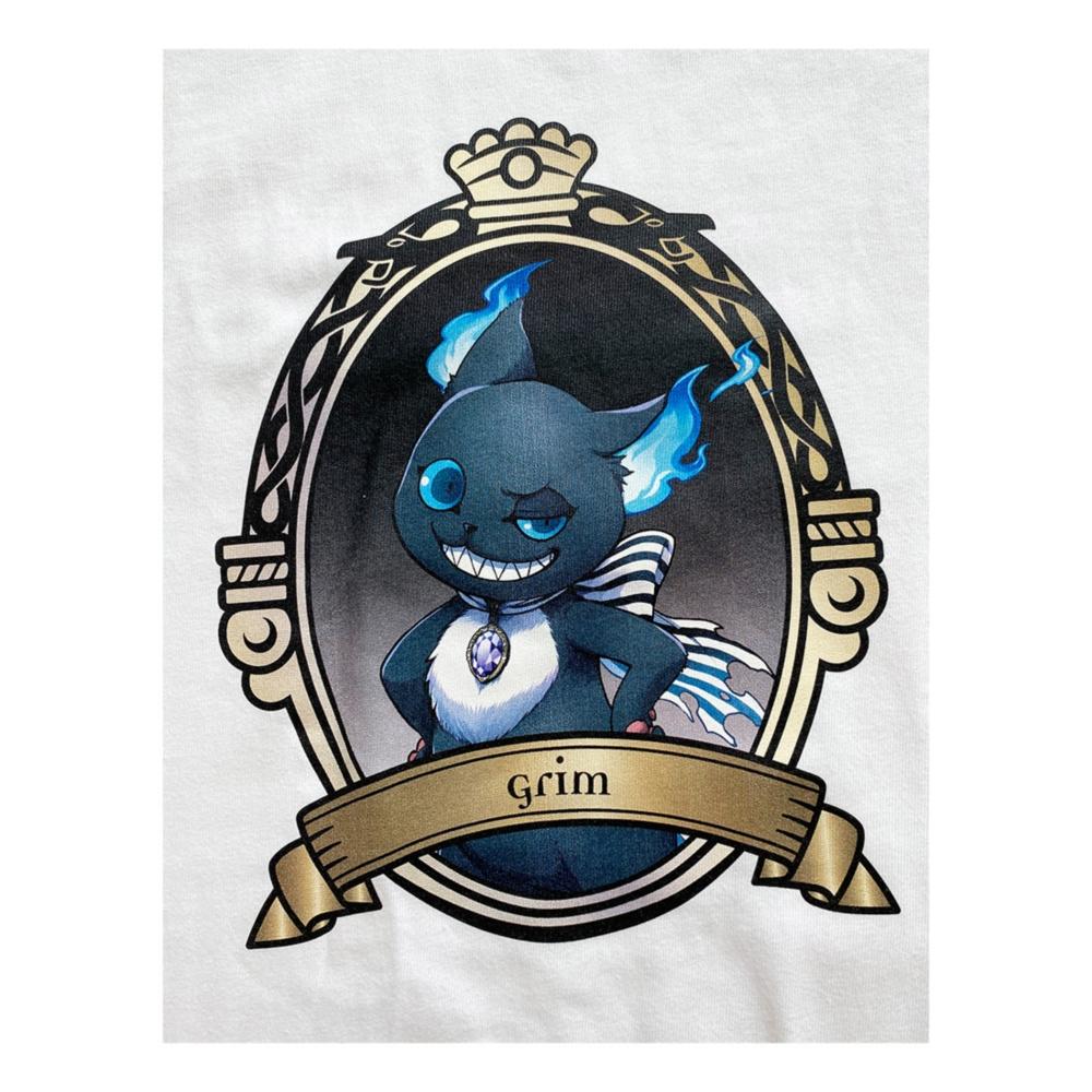 ディズニー ツイステッドワンダーランド Tシャツ  グリム/Tシャツ/XL