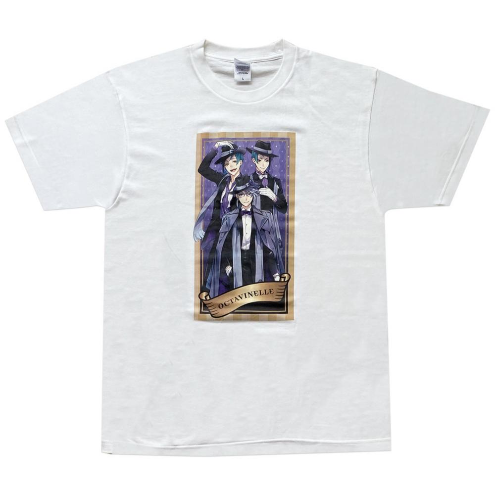 ディズニー ツイステッドワンダーランド Tシャツ  オクタヴィネル/Tシャツ/L