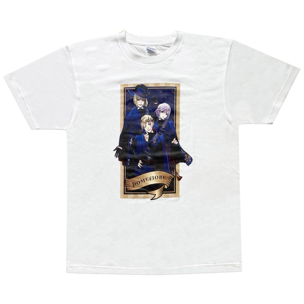 ディズニー ツイステッドワンダーランド Tシャツ  ポムフィオーレ/Tシャツ/L