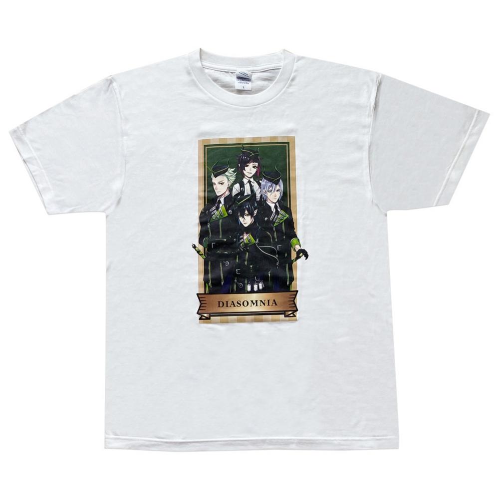 ディズニー ツイステッドワンダーランド Tシャツ  ディアソムニア/Tシャツ/L