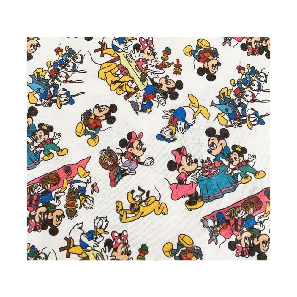 ディズニー ミッキーマウス&フレンズ 総柄プリント ロングTシャツ