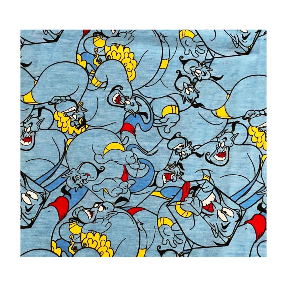 ディズニー ジーニー ぎっしり 総柄プリント ロングTシャツ