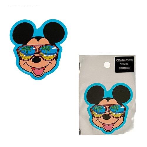 ディズニー キャラクターステッカー ミッキーマウス/サングラス