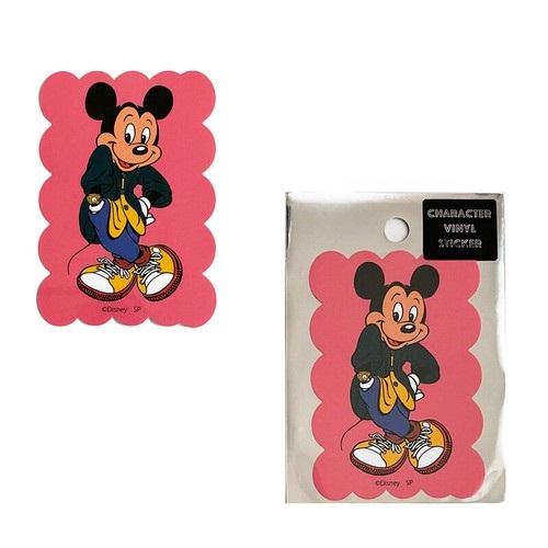 ディズニー キャラクターステッカー ミッキーマウス/ファッション