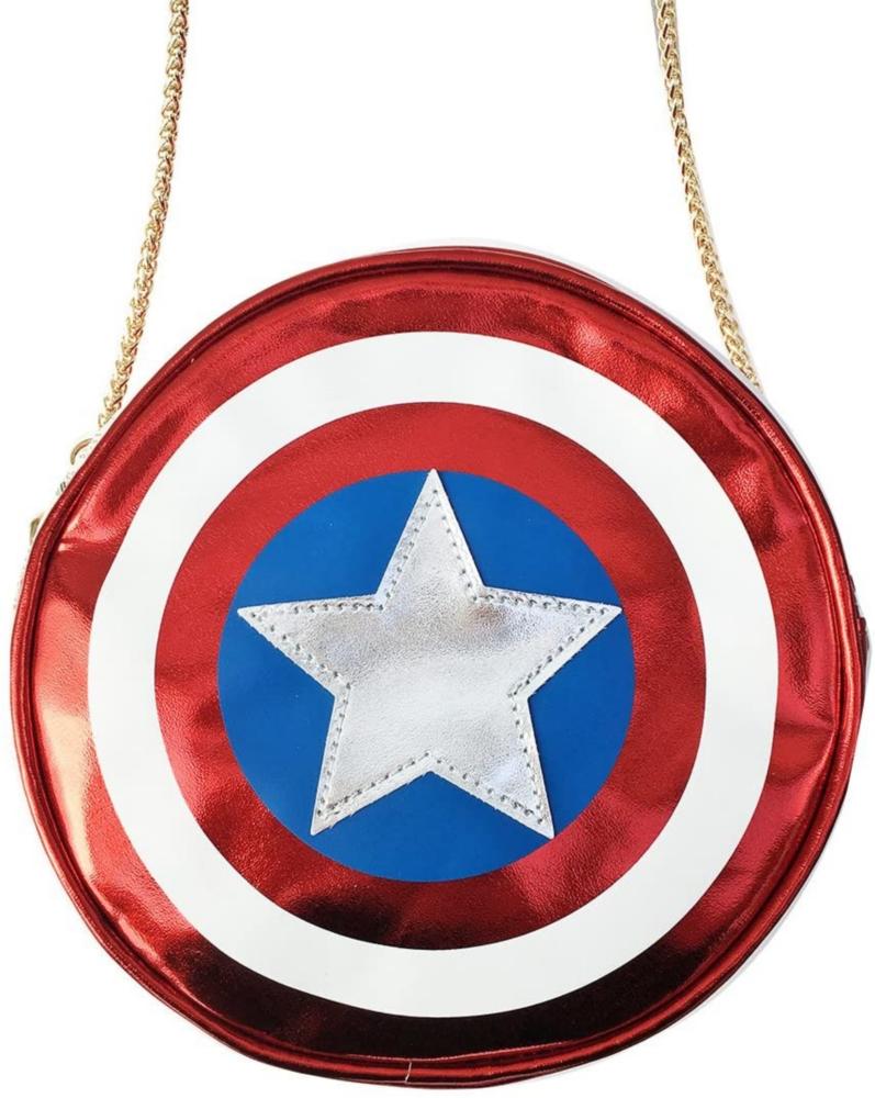 MARVEL マーベル ラウンドバッグ / キャプテン・アメリカ シールド