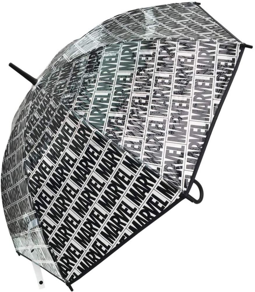 【 MARVEL 】 ビニール傘 BOXロゴ パターンBLACK